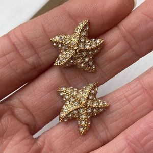 J.Crew starfish studs
